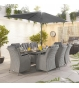 Thalia 8 Seat Rectangular Dining Set