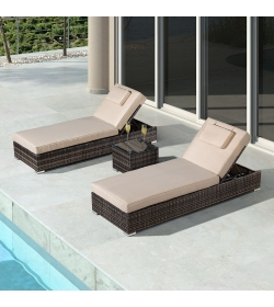 Rimini Sun Lounger Set