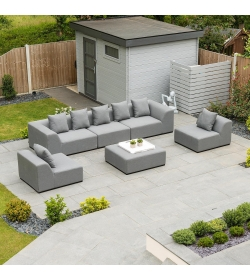 Buddha Outdoor Fabric Sofa Set