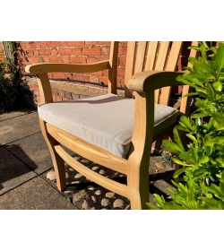 Large seat pad outdoor cushion