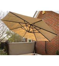 Turino wall parasol