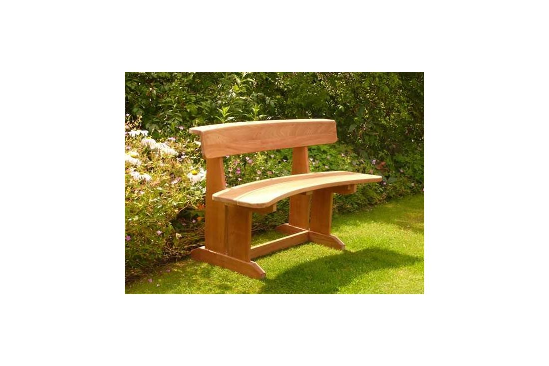 Romance teak bench