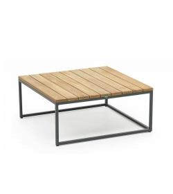 Alta side tables teak top