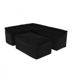 Weather Cover Corner sofa  & Rising Table