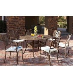 Leaf 6 seater Oval table & chairs &#39Set&#39