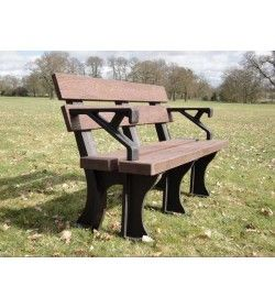 Eco park bench arms 1.5m