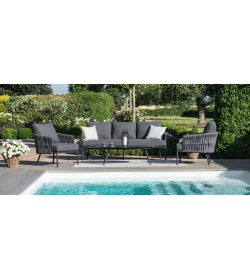 Marina 3 Seat Sofa Set