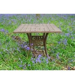 Leaf square table 90 x 90 cm