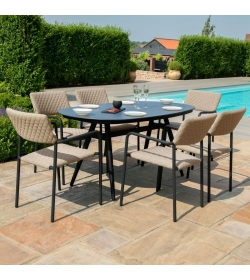 BLISS 6 SEAT OVAL DINING