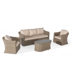 Winchester 3 Seat Set - With Firepit Coffee Table