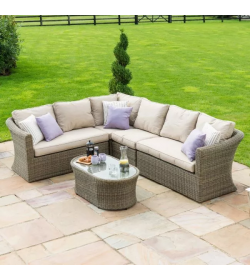 Winchester Large Corner Sofa - With Fire Pit