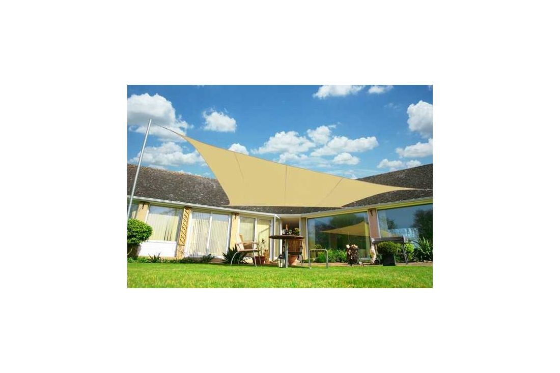 Shade sail 5.0m x 4.0m Rectangular WP