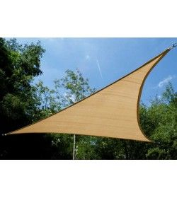Shade Sail Lux 3.0m Triangle Breathable