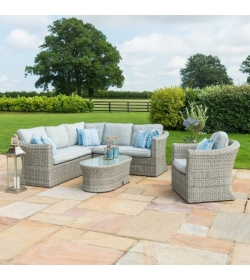OXFORD SMALL CORNER GROUP WITH ARMCHAIR