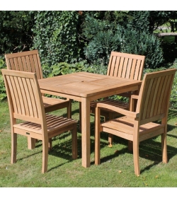 Winchester 4 Chair Dining Set | FSC® Certified