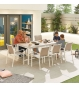Milano 8 Seat Dining Set
