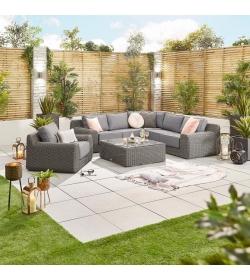 Luxor 1C Rattan Corner Sofa Set