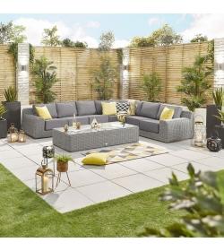 Luxor 4A Rattan Corner Sofa Set