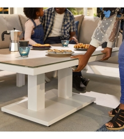 Vogue Aluminium Rising Table