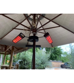 3KW Tri Parasol Heater With Remote