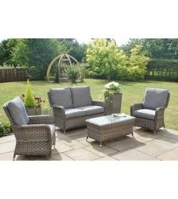 Victoria 2 Seater High Back Sofa Set