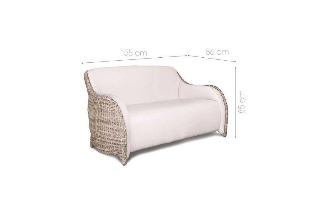 Luxor 2 Seater Sofa