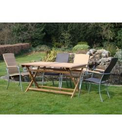 Campden 4 Folding Table Set