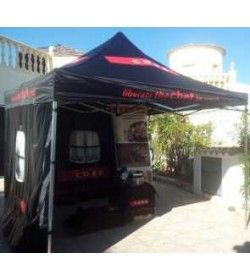 Pop up Black Gazebo
