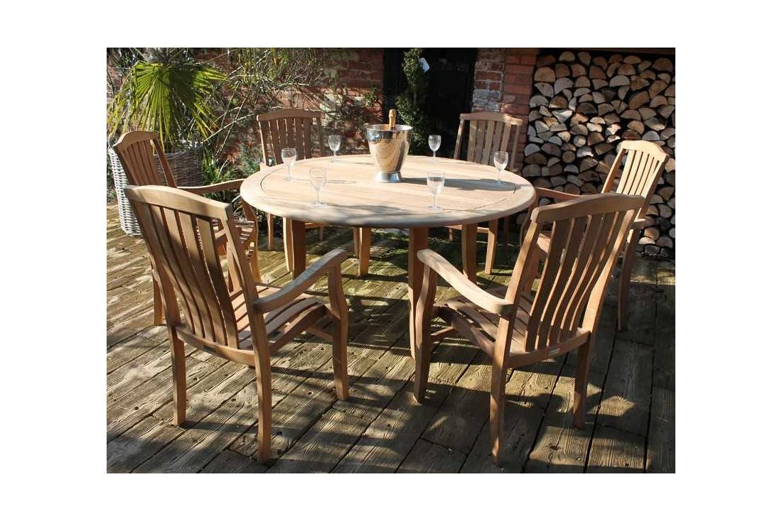 Westminster FSC Certified 6 Chair Dining Set