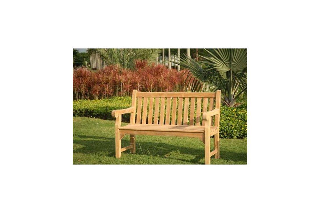 Richmond Garden Teak Bench 1.3m