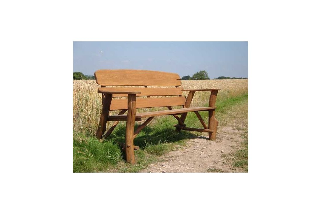 Oak Garden Bench 120cm