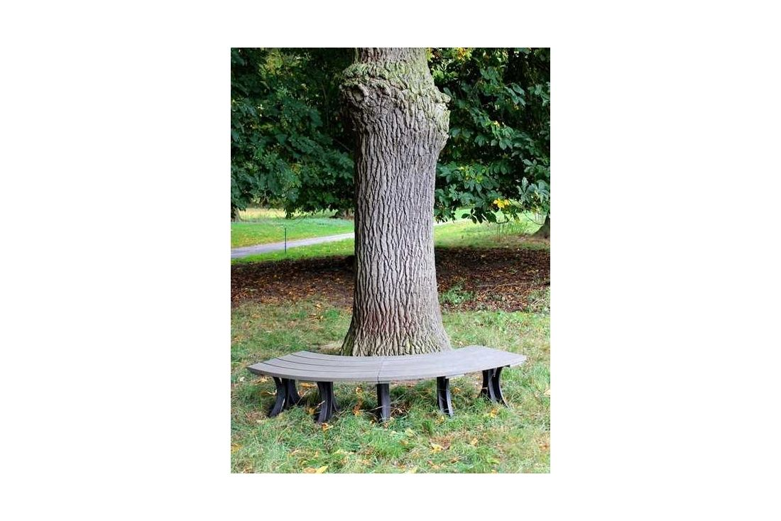 Eco Curved Backless Bench