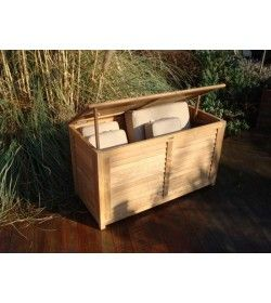 FSC Certified 1.2m Teak Cushion Box