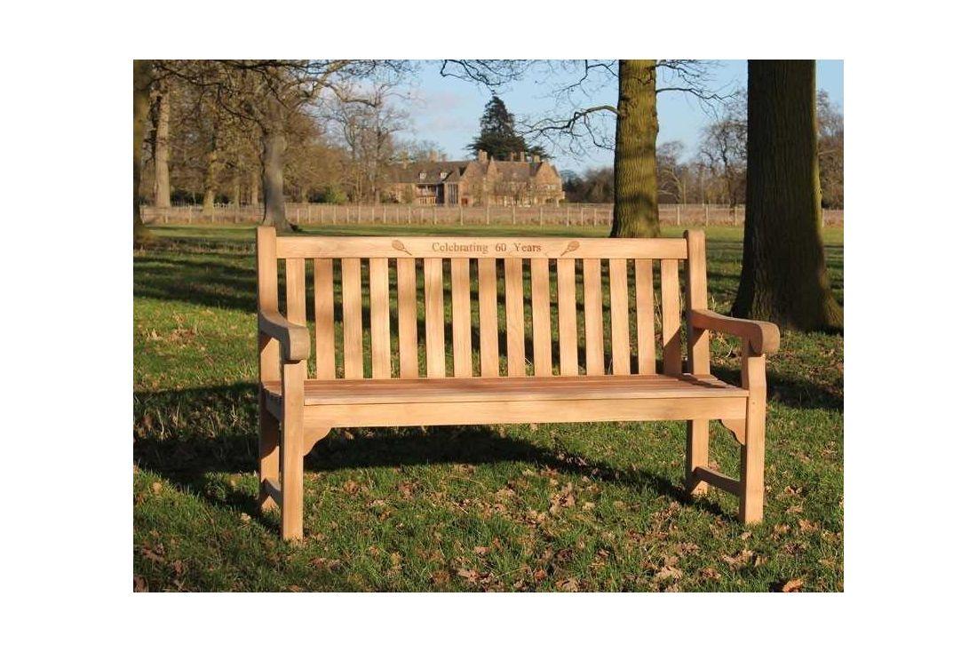 Richmond Garden Teak Bench 1.5m