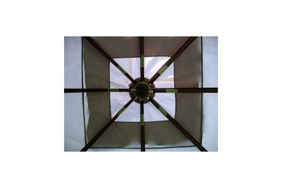 4m x 3m riveria gazebo - top frame