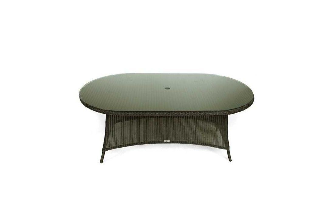 Feri 250cm oval wicker table