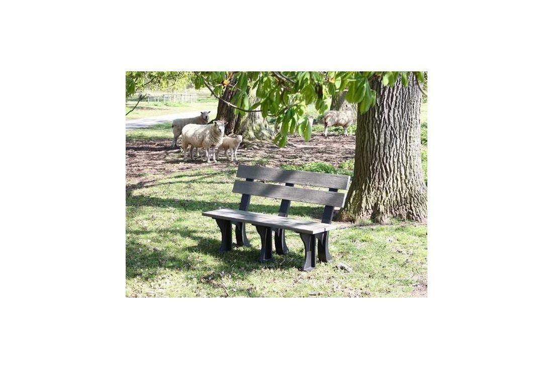 Eco park bench 1.3m