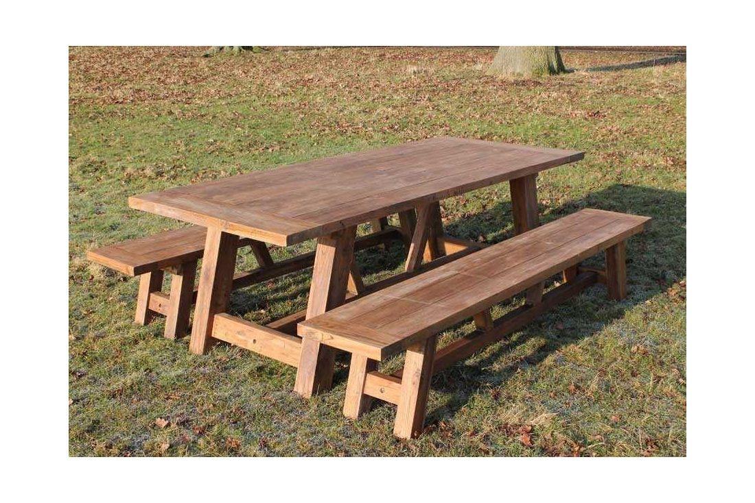 Lombok 2.4m Bench Set