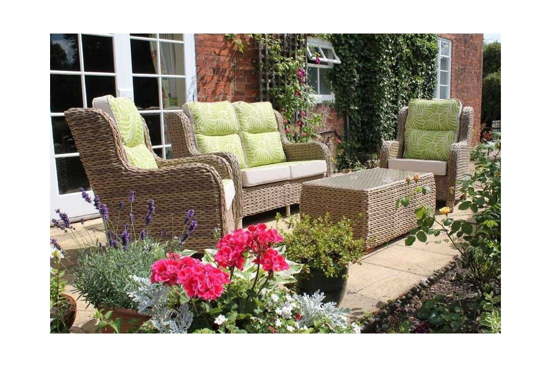 Canterbury 2 seater sofa set