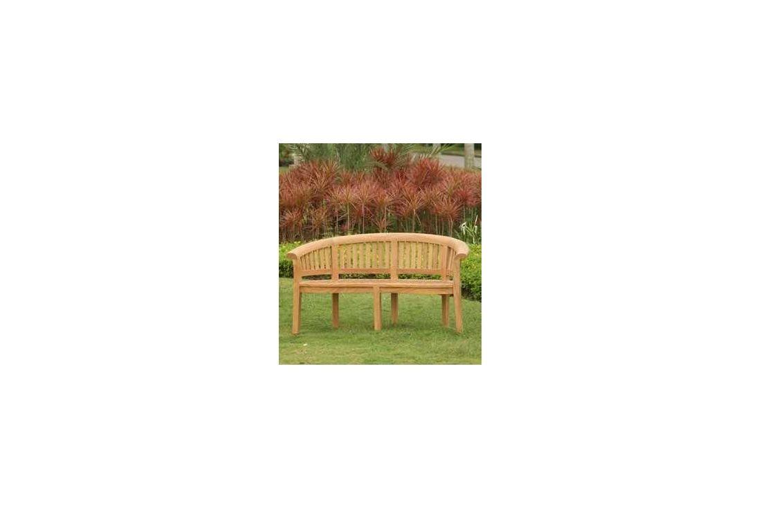 Half Moon Garden Bench