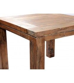 York 1m Square Table