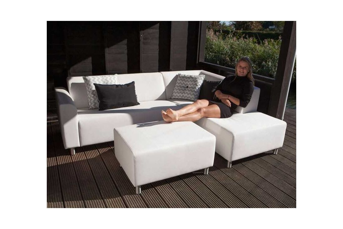 Silvertex Chaise Corner Set