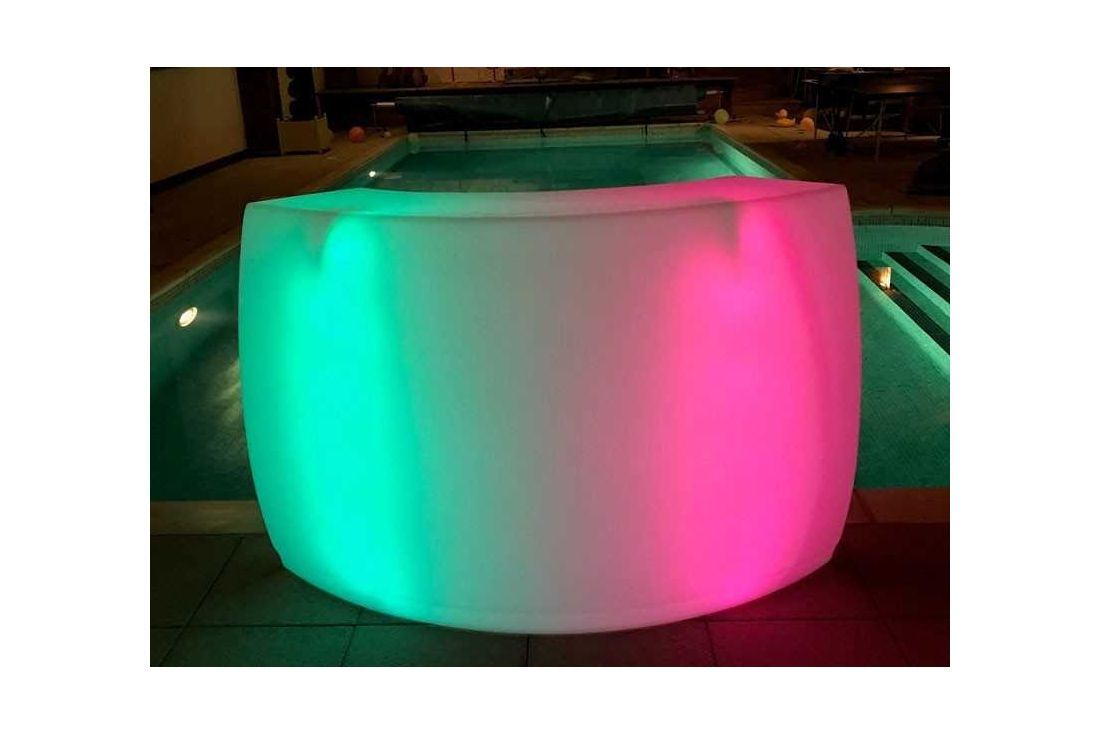 LED Bar Counter Curved