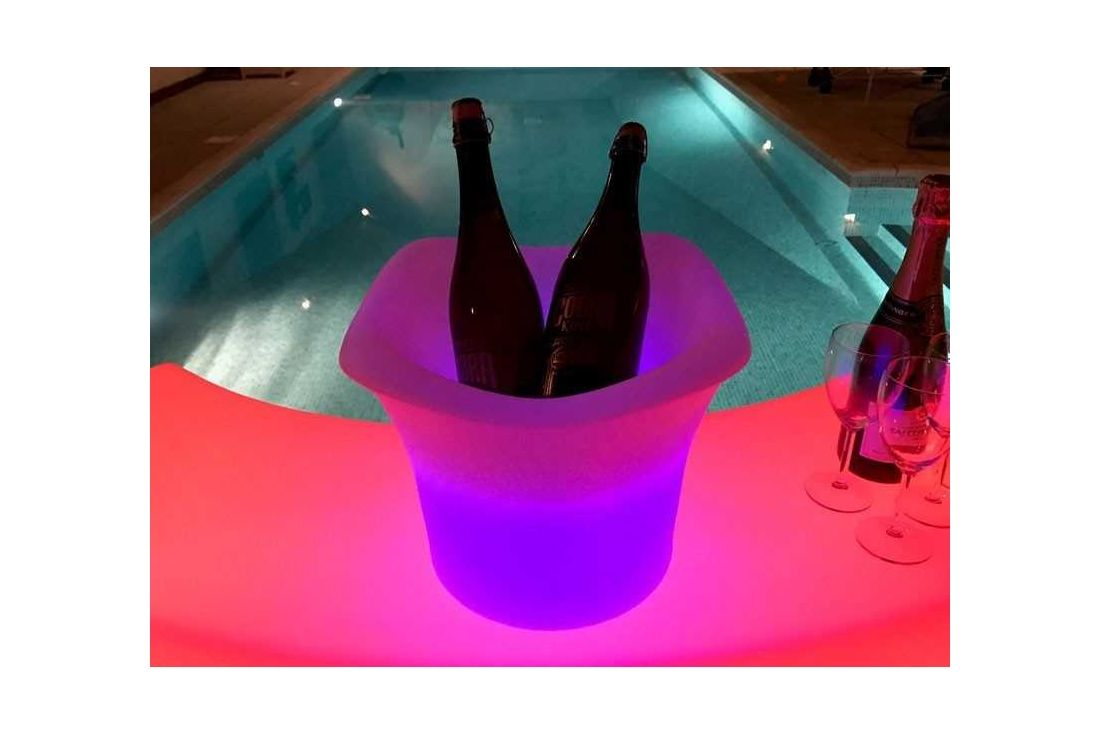 LED Ice Bucket Medium
