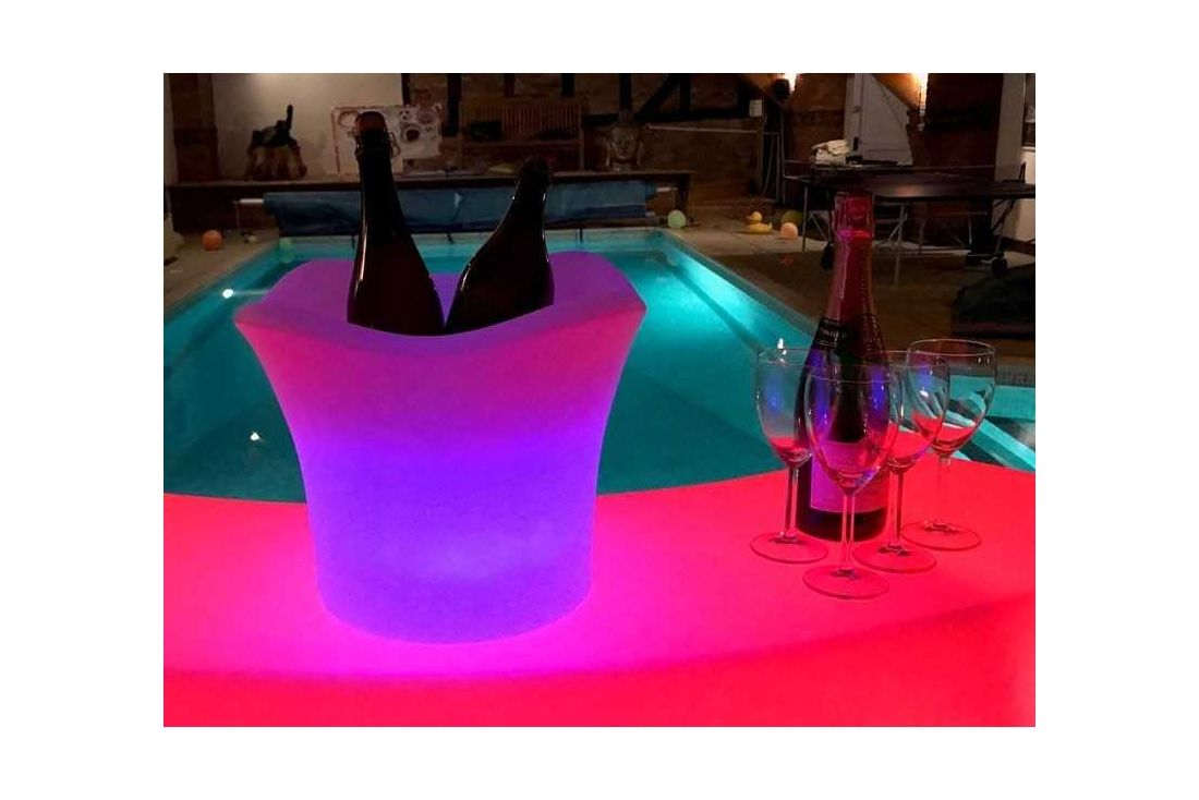 LED Ice Bucket Medium