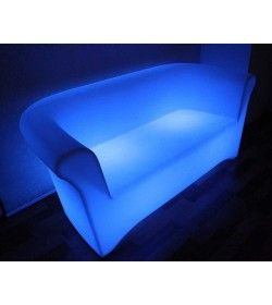 LED 2 Seater Sofa