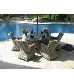 Fiji 6 Chair Dining Set