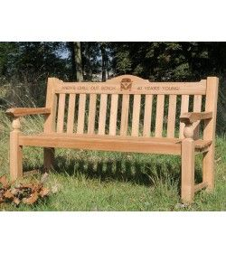 Teak Windsor Bench 150cm