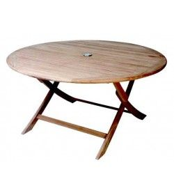 Henley round folding table -120cm diameter