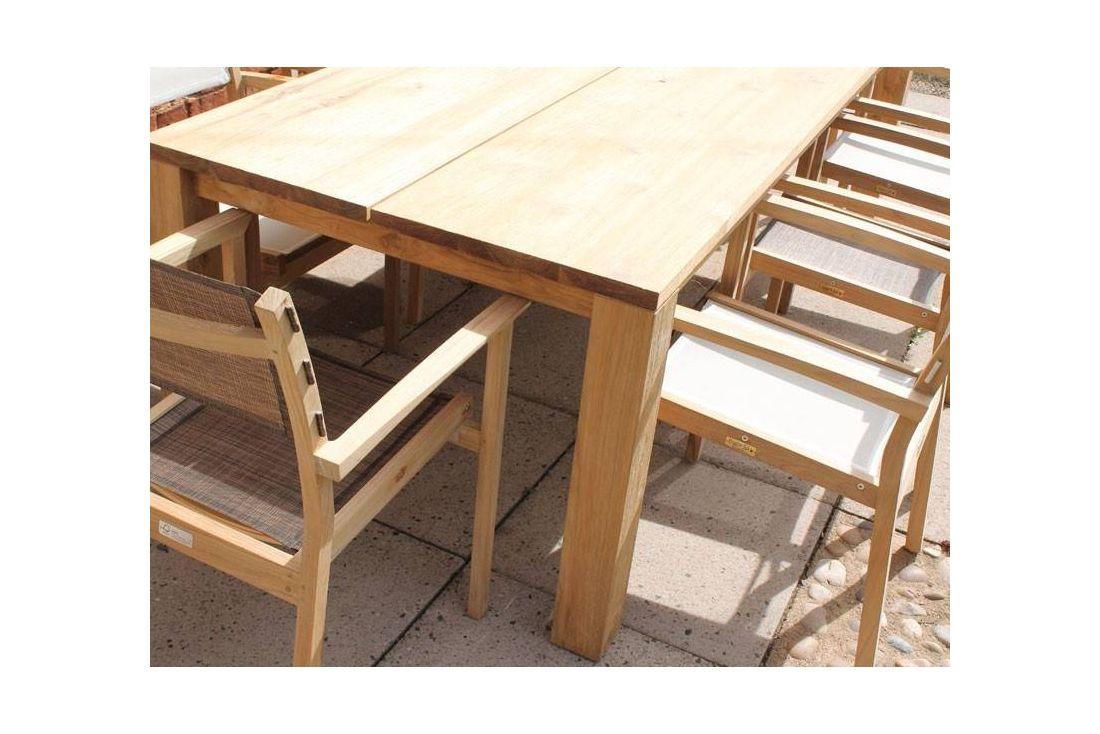 Mayfair FSC Certified Teak 8 Chair Dining Set